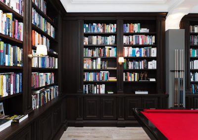 Inneneinrichtung-Bibliothek